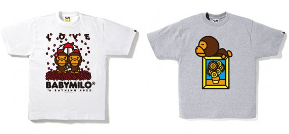 t-shirt Bape collection printemps-ete 2010