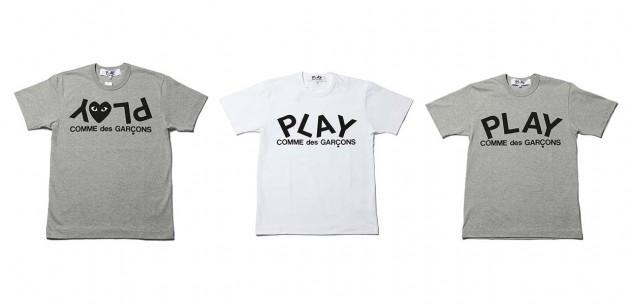 T-shirt Comme des garcons Play 2010