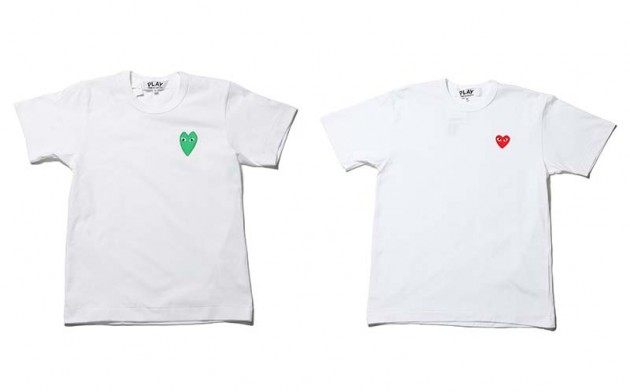 Tshirt Comme des garcons Play collection 2010