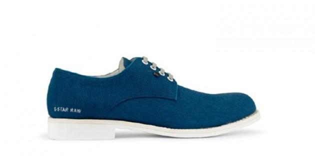 Chaussures G-STAR Utility Etan Derby bleues
