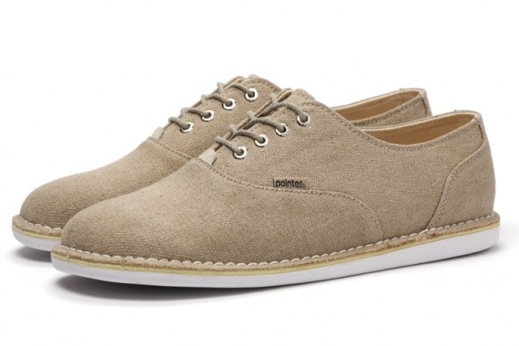 Chaussures Pointer Oxford Natural