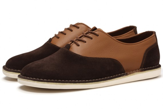 Chaussures Pointer Oxford Tan - Chocolate