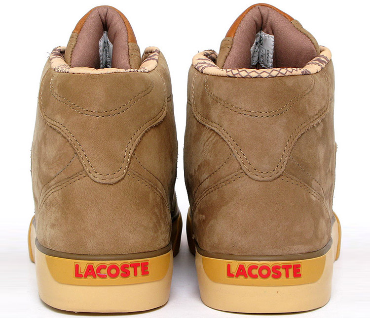 Chaussures Bodega - Lacoste Esteban collection 2010-back