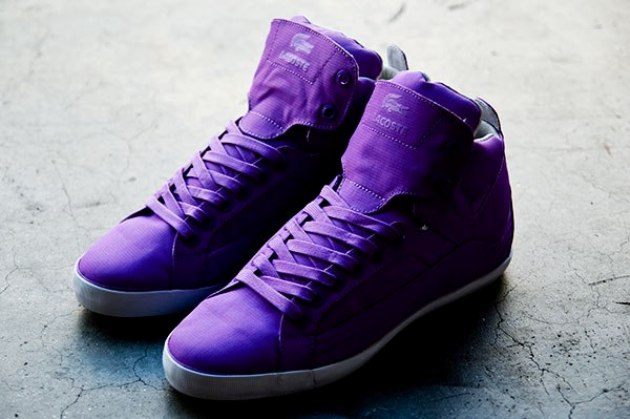 Sneakers Lacoste Stealth Chevel Hi RS - purple