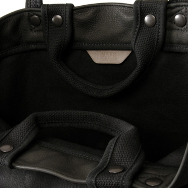 sac Makr button tote 2010 made in the usa