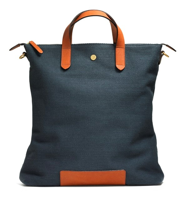 Mismo Limited Shopper Petrol cuoio