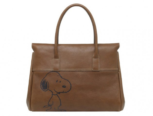 PEANUTS x MULBERRY