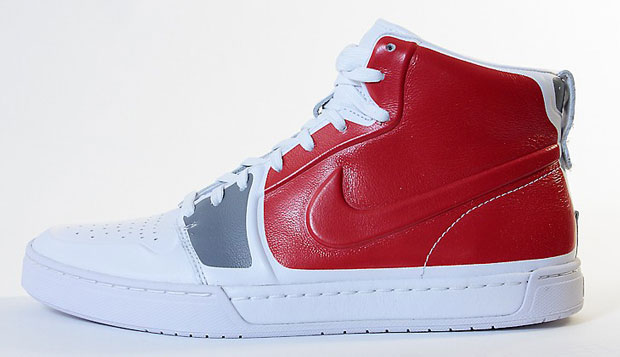 Nike Air Royal Mid Blanc Rouge