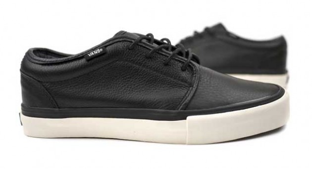 VANS VAULT 106 LX black noir leather