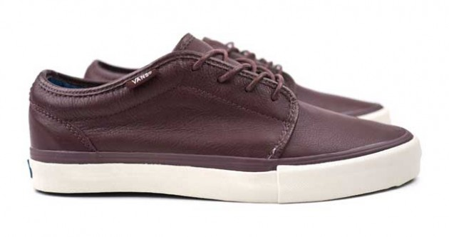 VANS VAULT 106 LX brown marron leather