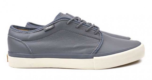 VANS VAULT 106 LX grey gris leather
