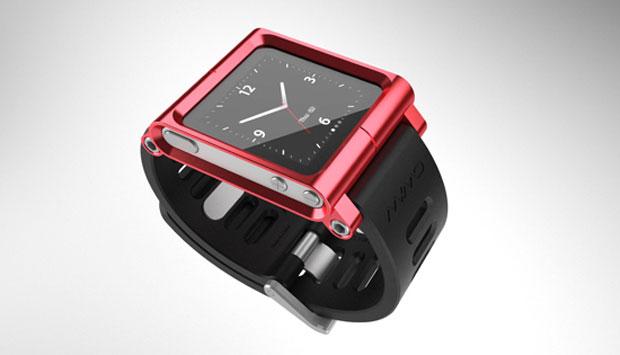 bracelet montre iPod nano Mimo Lunatik