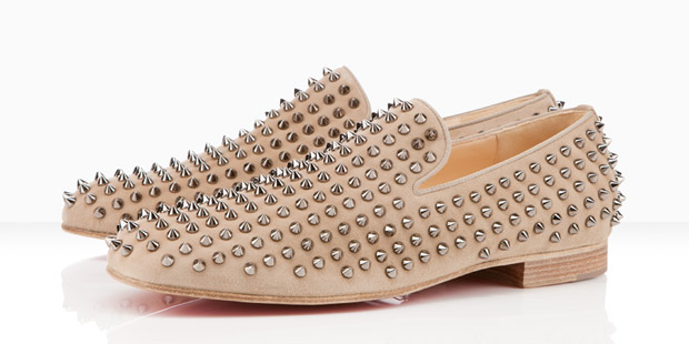 Christian Louboutin Rollerboy Spikes suede 2011