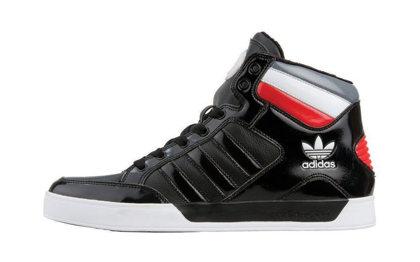adidas Hardcourt Mid Noir-rouge