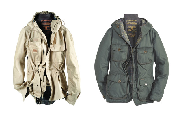 Barbour x Tokihito The Beacon Heritage
