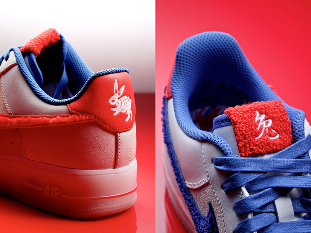 Nike Air Force 1 Low Supreme Low Nouvel An Chinois 2011