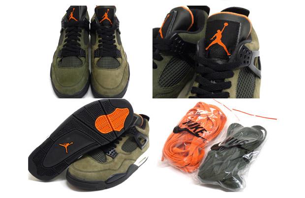 UNDFTD x Jordan 4