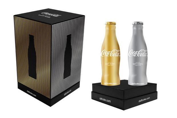 Bouteille Coca Cola Club Coke x Daft-Punk