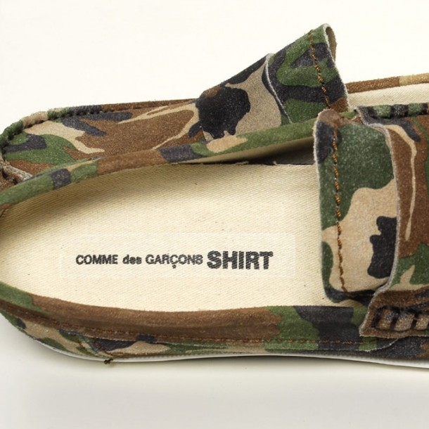 Pointer x Comme Des Garcons SHIRT Tanju Camo 2011