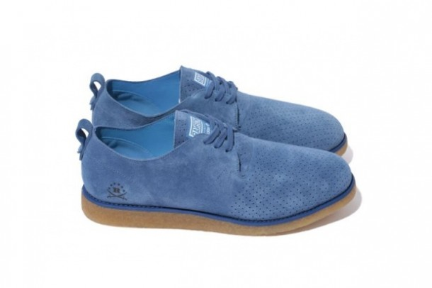 Ransom by Adidas Originals x Stussy Alan Crepe Blue/Bleu