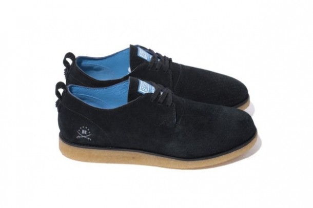 Ransom by Adidas Originals x Stussy Alan Crepe Noir/Black