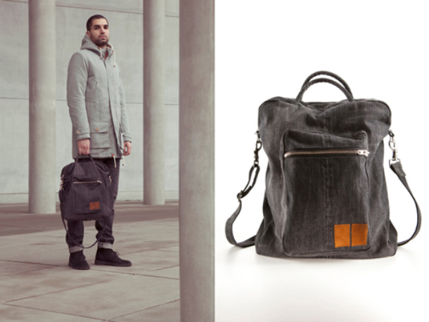 Wood Wood x A Kind Of Guise Double Denim Bag 2011