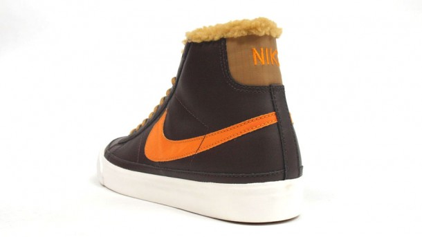 Nike Blazer Mid Brown-Orange
