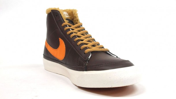 Nike Blazer Mid Limited Edition Brown-Orange