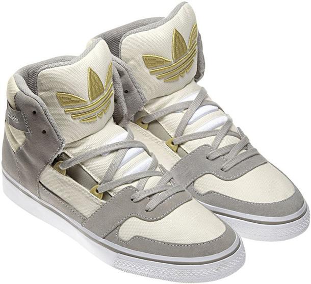 adidas Hardland 2011 gris/blanc