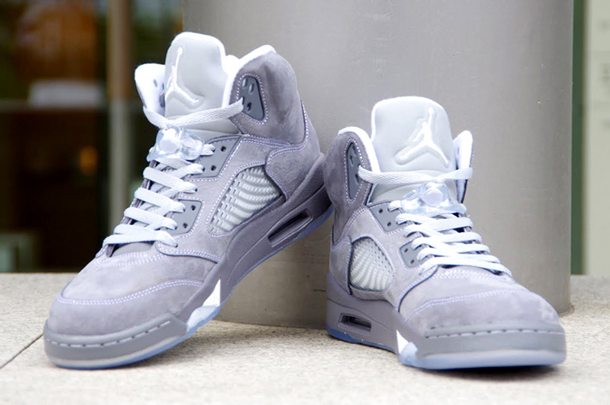 Air Jordan 5 Retro Gris/Wolf Grey