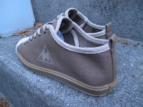 Le Coq Sportif Monarque canvas marron