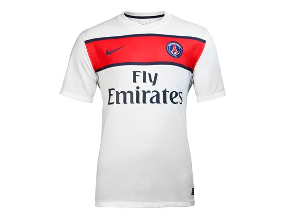 Nouveau maillot PSG extérieur saison 2012