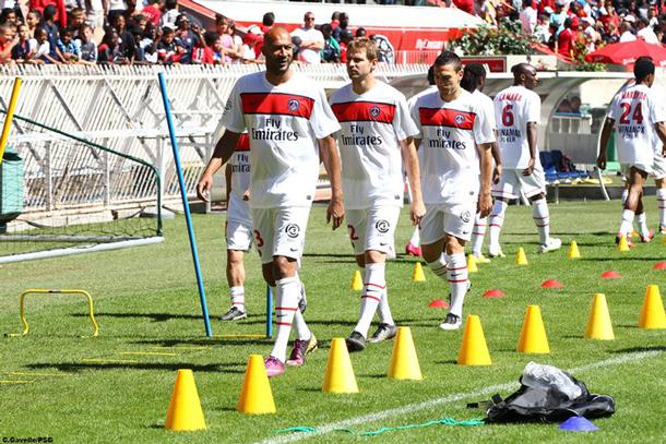 Nouveau maillot PSG saison 2012