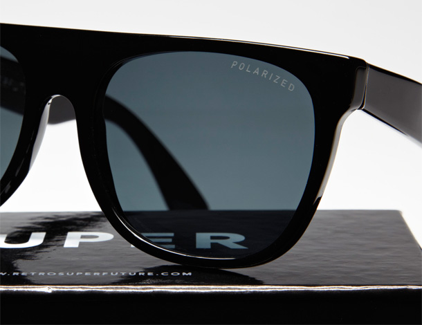 Retro Super Future Flat Top Polarized