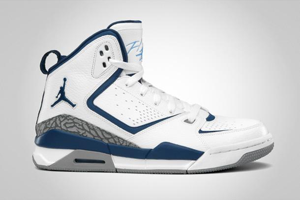 Air Jordan SC-2 Blanc/Bleu/Gris