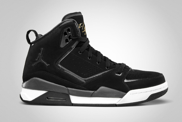 Air Jordan SC-2 Noir/Gold