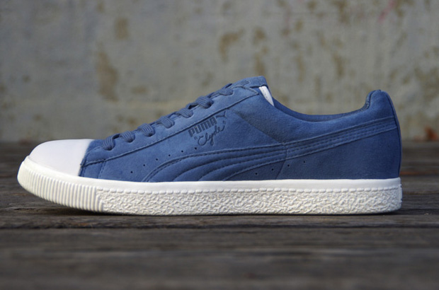 Undefeated x PUMA Clyde Coverblock Bleu/Blue