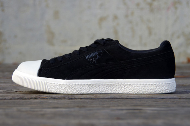 Undefeated x PUMA Clyde Coverblock Noir/Black