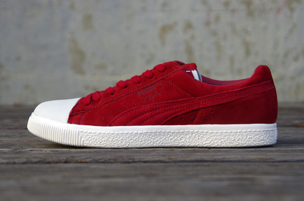 Undefeated x PUMA Clyde Coverblock Rouge/Red