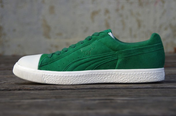Undefeated x PUMA Clyde Coverblock Vert/Green