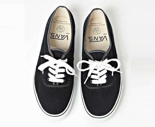 Vans Authentic x Beauty & Youth Black Velvet