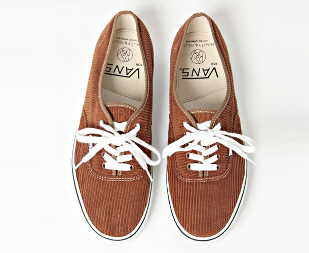 Vans Authentic x Beauty & Youth Brown Velvet