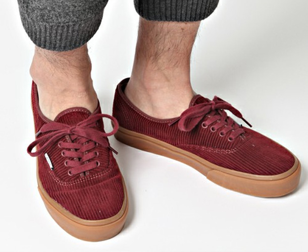 Vans Authentic x Beauty & Youth Velours Bordeaux