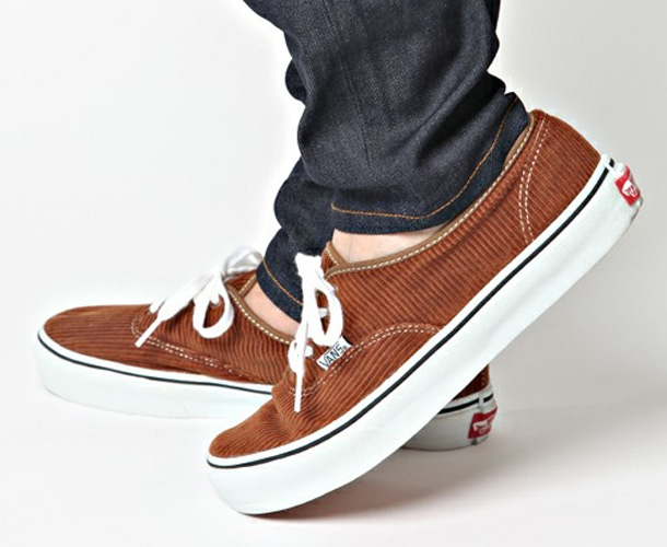 Vans Authentic x Beauty & Youth Velours Marron