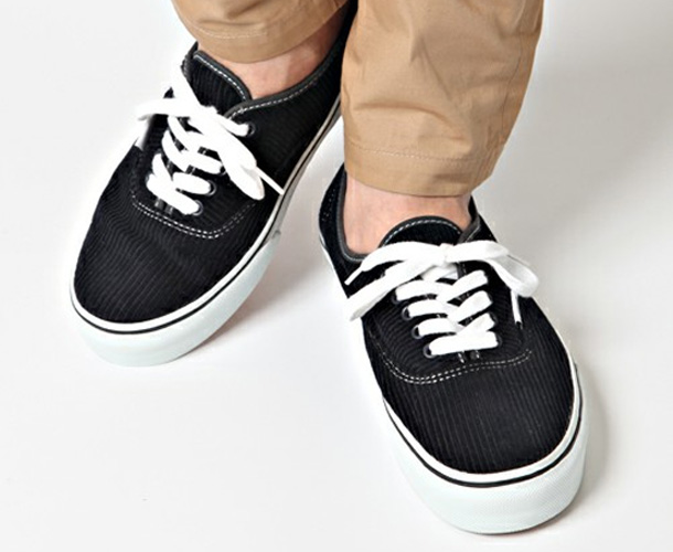Vans Authentic x Beauty & Youth Velours Noir