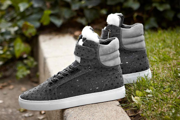 Android Homme Propulsion Hi Meteor Gris Textile Pack