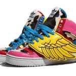 2NE1 x Jeremy Scott for adidas ObyO JS Wings