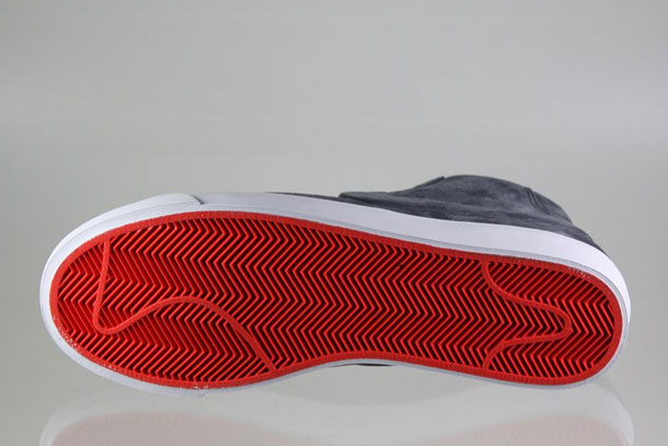 Nike Blazer Mid VT Gris/Blanc/Orange