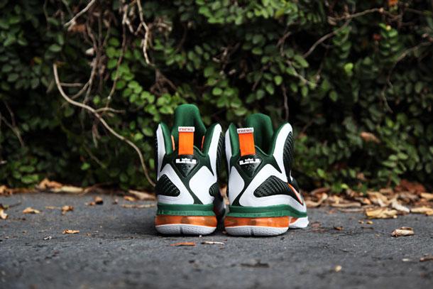 Nike Lebron 9 Miami Vert/Orange