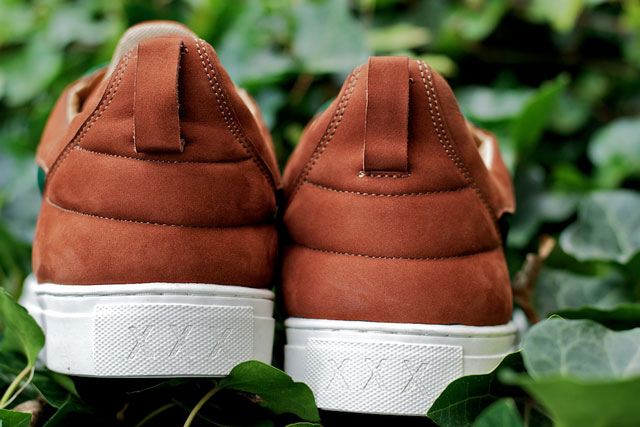 Filling Pieces Low Top Camel Suede